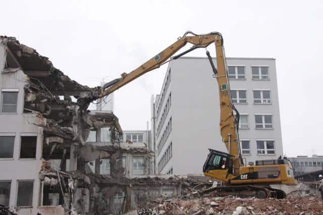 Demolizione edifici Arese